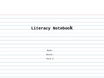 Digital Literacy Notebook