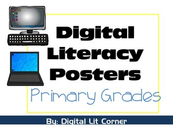 Digital Literacy Posters - Primary Grades