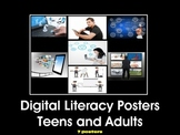 Digital Literacy Posters for High School by Digital Lit Corner