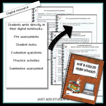 Digital Literacy  How to Evaluate Websites