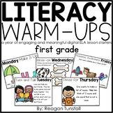 Digital Literacy Warm-Ups First Grade