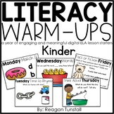 Digital Literacy Warm-Ups Kindergarten