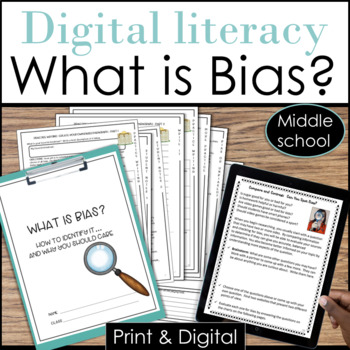 Bias Worksheets & Teaching Resources | Teachers Pay Teachers