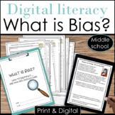 How to Identify Bias Online Activities Digital Literacy Print and Digital