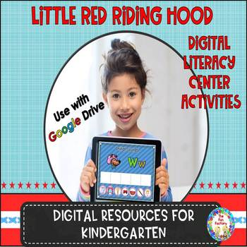 Digital Literacy With Little Red Riding Hood for Kindergarten