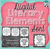Digital Literary Element Sort