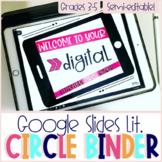 Digital Literature Circle Binder