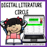 Digital Literature Circle/ Book Club for Google Classroom Share and Go