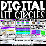 Digital Book Club Literature Circles for Google Classroom