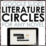 Digital Literature Circles for Any Novel