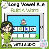 Boom Cards Long Vowel A Silent E Build A Word