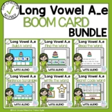 Boom Cards Long Vowel A Silent E Phonics Bundle
