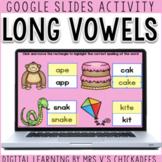 Digital Long Vowel Activity for Google Slides   DISTANCE LEARNING