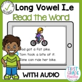 Boom Cards Long Vowel I Silent E Read the Word
