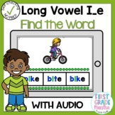 Digital Long Vowel I with Silent E Find the Word Boom Card
