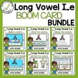Digital Long Vowel I with Silent E Phonics Boom Cards Bundle