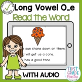 Boom Cards Long O silent E Read the Word