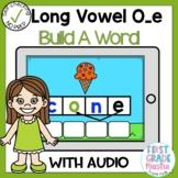 Digital Long Vowel O with Silent E Build A Word Boom Card