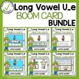 Boom Cards Long Vowel U Silent E Phonics Bundle