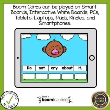 Boom Cards Long Vowel Open Syllable Phonics Bundle