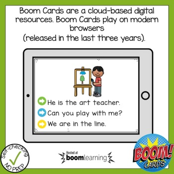 Boom Cards Long Vowel Open Syllable Read the Word