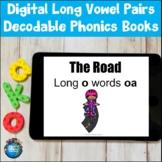 Digital Long Vowel Pairs Decodable Phonics Books