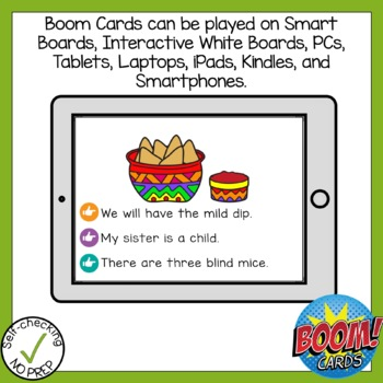 Boom Cards Long Vowel Patterns Read the Word