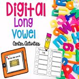 Digital Long Vowels Center Activities