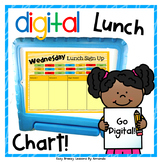 Digital Lunch Chart
