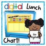 Digital Lunch Chart