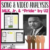 """DIGITAL MLK SONG & VIDEO ANALYSIS- """"PRIDE"""" BY U2"""