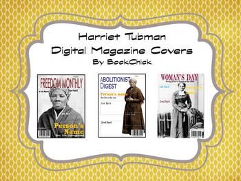 Digital Magazine Covers: Harriet Tubman