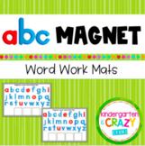 Digital Magnetic Letter Word Work Mats - Distance Learning