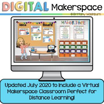 Digital Makerspace and STEM Tasks