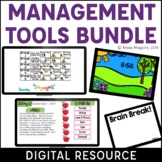 Digital Classroom Management Tools Bundle | Distance Learning