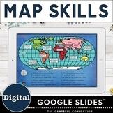 Digital Map Skills in Google Slides™