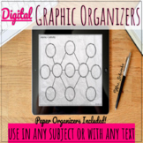 Digital Maps for Thinking and Brainstorming- Graphic Organizers