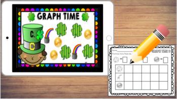 Digital March Math Centers for Kindergarten and First Grade