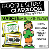 Digital March Math and Literacy Review