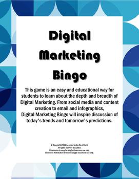 Digital Marketing Bingo