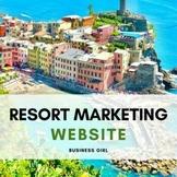 Digital Marketing Website Resort Project