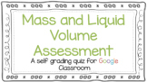 Digital Mass Liquid Volume Assessment for Google