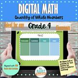Digital Math | 4 Digit Numbers | GR 4 | New Ontario Math C