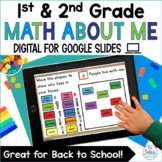 Math All About Me Digital   Back to School   Number Sense