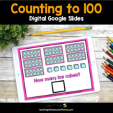 Digital Math Activities - Counting to 100 Google Slides