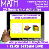Digital Math Activities   Geometry