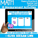 Digital Math Activities   Measurement
