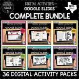 Digital Math Activities for Google Classroom Bundle   Dist