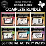 Digital Math Activities for Google Classroom Bundle | Dist