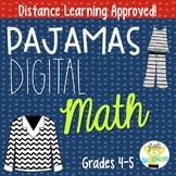 Activity Pajamas Distance Learning Digital Math